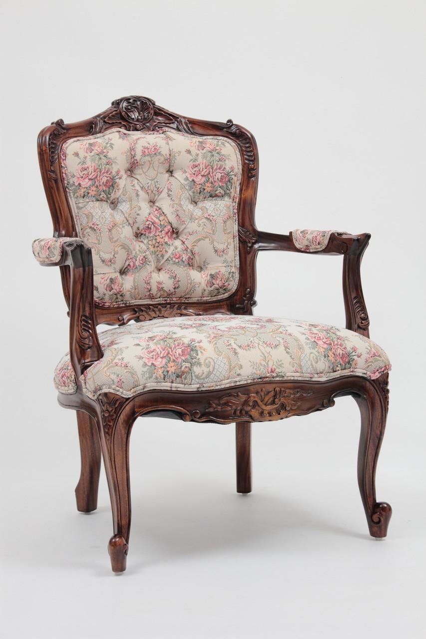 Louis XV Armchair | Laurel Crown Furniture