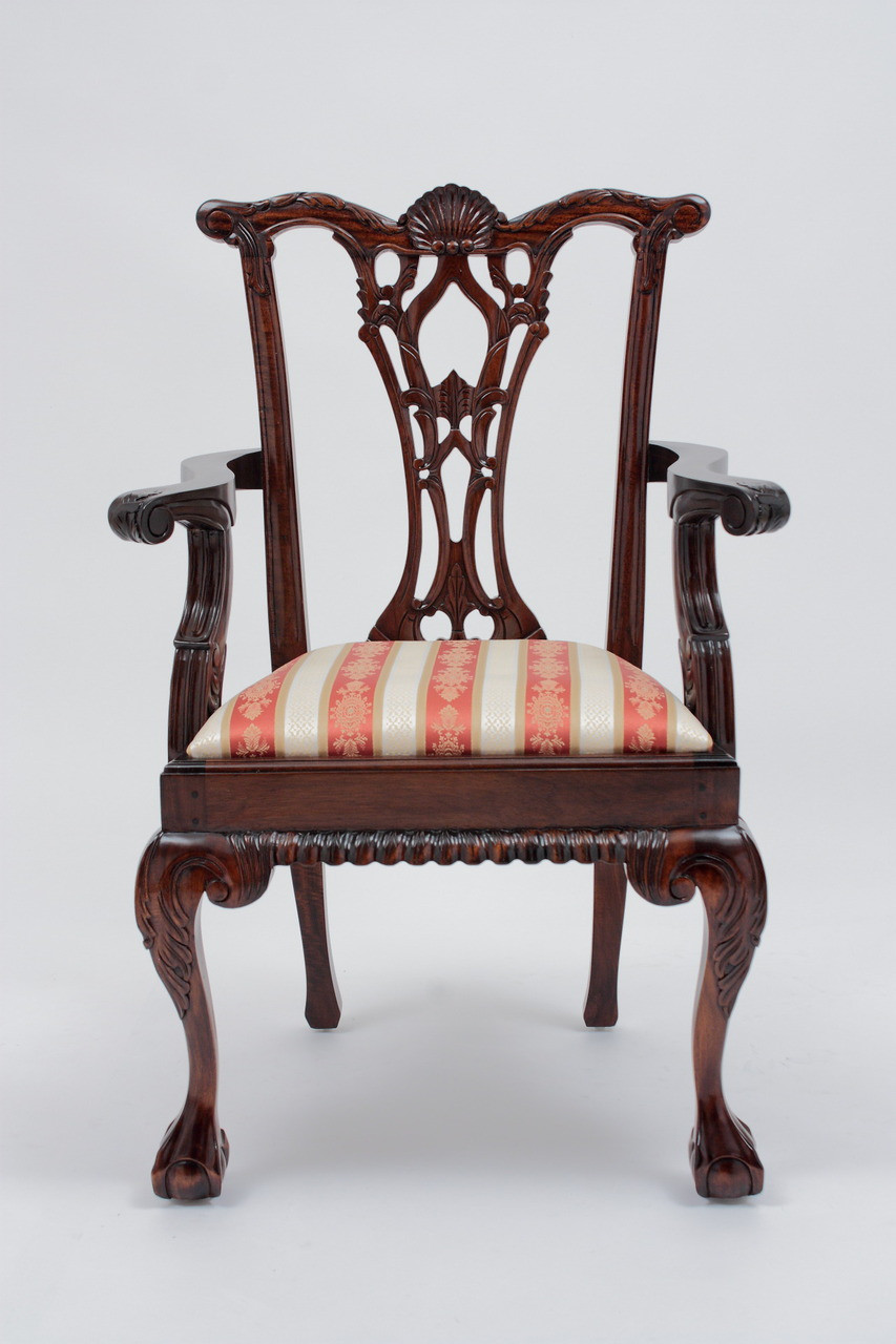 Brilliant Antique Chippendale Armchair Cjindustries Chair Design For Home Cjindustriesco