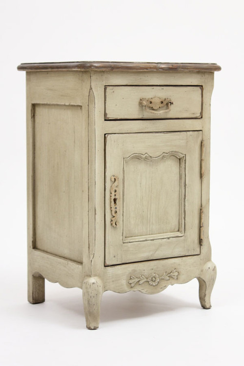French Country Bedside Table