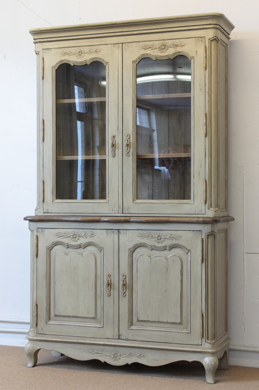 French Country Hutch Laurel Crown Furniture