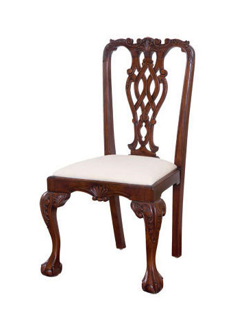 Attrayant Massachusetts Chippendale Dining Chair