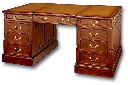 Antique Reproduction Partners Desk