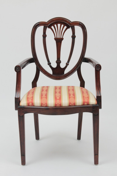 Federal Heart Back Armchair