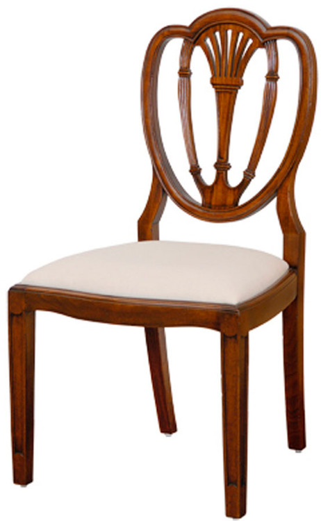 Federal Heart Back Chair