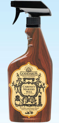 Goddard's Cabinet Makers Wax Spray (Formally Furniture Polish Spray) - 6 Pack