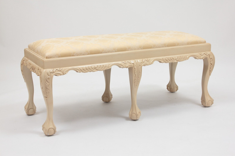 Custom Upholstered Bedroom Bench