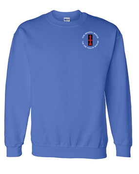 32nd Infantry Brigade Embroidered Sweatshirt  (C)