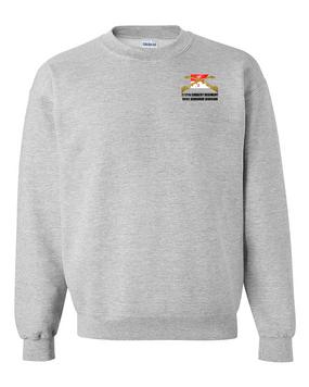 2/17th Cavalry Regiment Embroidered Sweatshirt