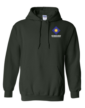 40th Infantry Division Embroidered Hooded Sweatshirt
