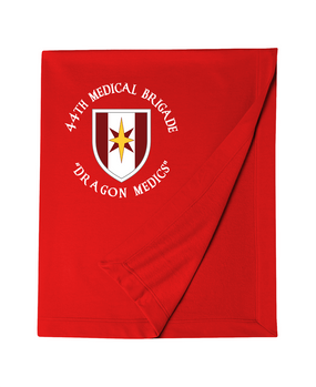 44th Medical Brigade Embroidered Dryblend Stadium Blanket  (C)