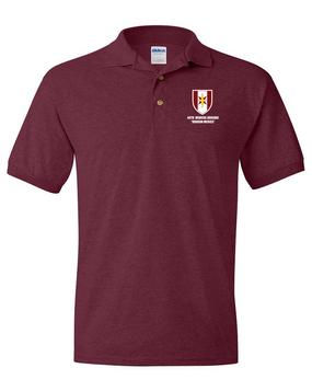 44th Medical Brigade Embroidered Cotton Polo Shirt