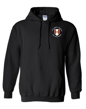 44th Medical Brigade Embroidered Hooded Sweatshirt (C)