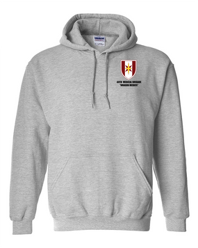 44th Medical Brigade Embroidered Hooded Sweatshirt