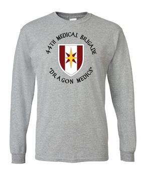 44th Medical Brigade Long-Sleeve Cotton T-Shirt (C)(FF)