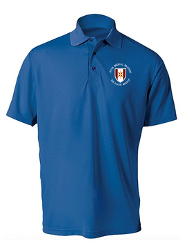 44th Medical Brigade Embroidered Moisture Wick Polo Shirt (C)