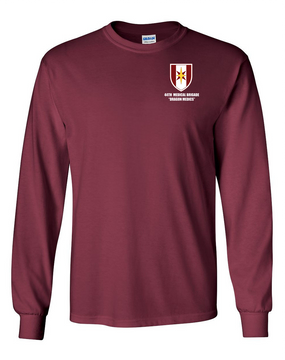 44th Medical Brigade Long-Sleeve Cotton T-Shirt