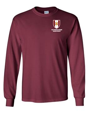 44th Medical Brigade Long-Sleeve Cotton T-Shirt