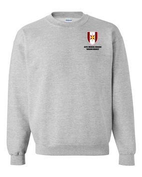 44th Medical Brigade Embroidered Sweatshirt