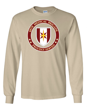 44th Medical Brigade Long-Sleeve Cotton T-Shirt -Proud (FF)