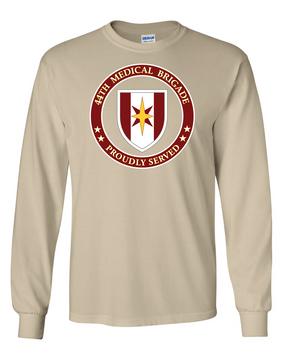44th Medical Brigade Long-Sleeve Cotton T-Shirt -Proud (FF)