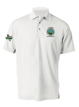 The Pipeliners Assocation of Houston Embroidered Moisture Wick Polo Shirt
