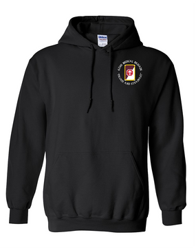 62nd Medical Brigade Embroidered Hooded Sweatshirt (C)
