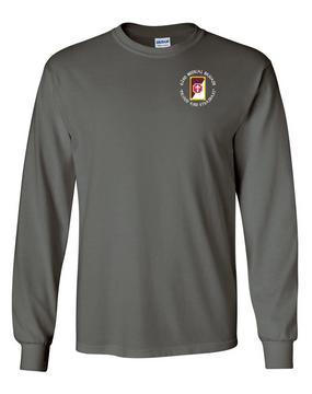 62nd Medical Brigade Long-Sleeve Cotton T-Shirt (C)
