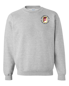 62nd Medical Brigade Embroidered Sweatshirt  (C)