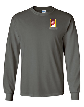 62nd Medical Brigade Long-Sleeve Cotton T-Shirt