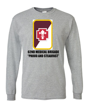 62nd Medical Brigade Long-Sleeve Cotton T-Shirt (FF)