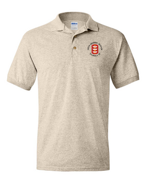 130th Engineer Brigade Embroidered Cotton Polo Shirt  (C)