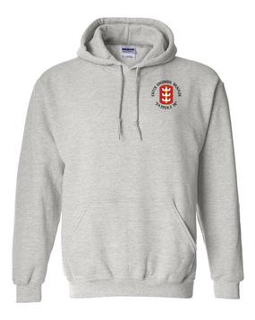 130th Engineer Brigade Embroidered Hooded Sweatshirt (C)