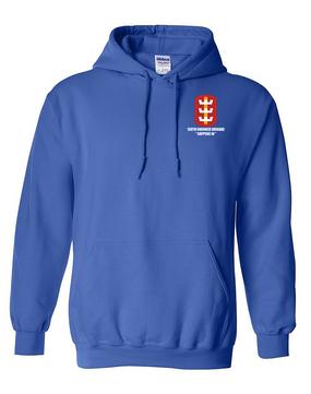 130th Engineer Brigade Embroidered Hooded Sweatshirt