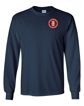 130th Engineer Brigade Long-Sleeve Cotton T-Shirt -Proud