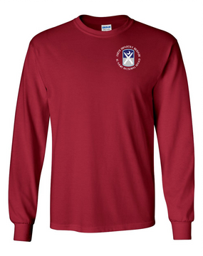218th Infantry Brigade Long-Sleeve Cotton T-Shirt  (C)