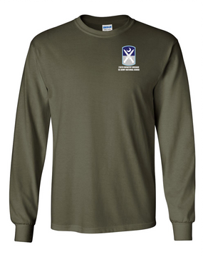 218th Infantry Brigade Long-Sleeve Cotton T-Shirt