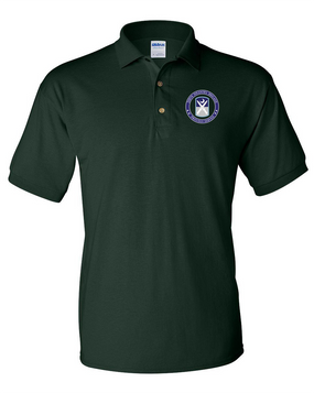 218th Infantry Brigade Embroidered Cotton Polo Shirt -Proud