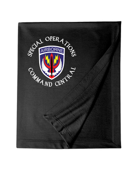 SOCCENT Embroidered Dryblend Stadium Blanket (C)
