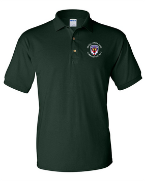 SOCCENT Embroidered Cotton Polo Shirt -(C)