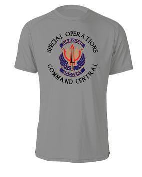 """SOCCENT """"Crest""""  Cotton Shirt -(C)(FF)"""