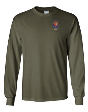"SOCCENT ""Crest""  Long-Sleeve Cotton T-Shirt"