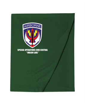 SOCCENT Embroidered Dryblend Stadium Blanket