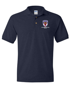 SOCCENT Embroidered Cotton Polo Shirt