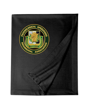 PSYOP Regimental Association Embroidered Dryblend Stadium Blanket