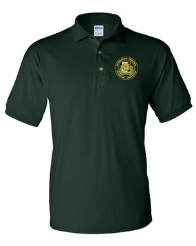 PSYOP Regimental Association Embroidered Cotton Polo Shirt