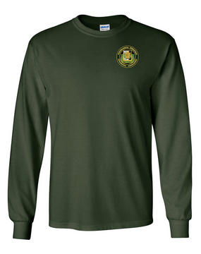 PSYOP Regimental Association Long-Sleeve Cotton T-Shirt