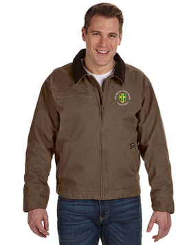 18th MP Brigade Embroidered DRI-DUCK Outlaw Jacket (C)