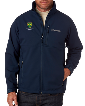 18th MP Brigade Embroidered Columbia Ascender Soft Shell Jacket