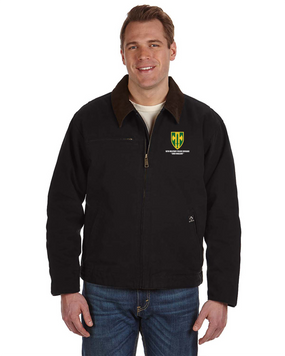 18th MP Brigade Embroidered DRI-DUCK Outlaw Jacket