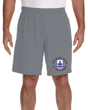 29th Infantry Brigade Embroidered Gym Shorts  (C)